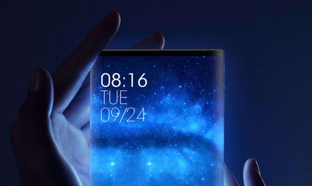 Údajný Xiaomi Mi MIX 4