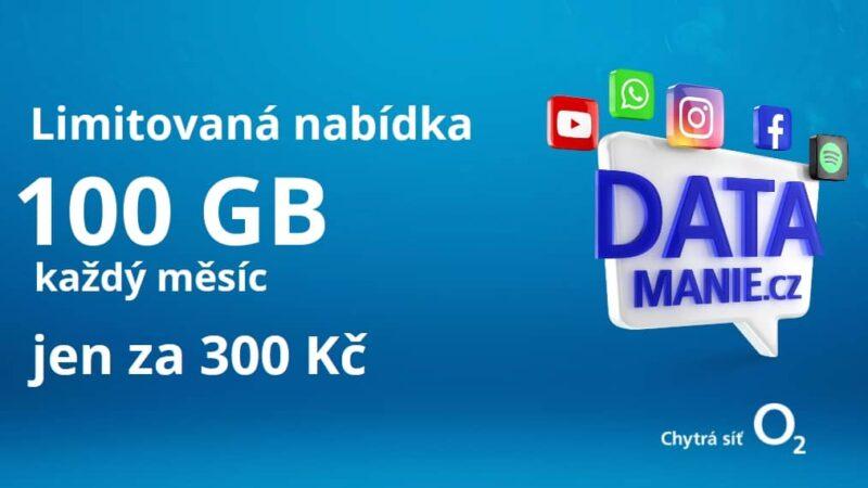 O2 Datamanie 100 GB