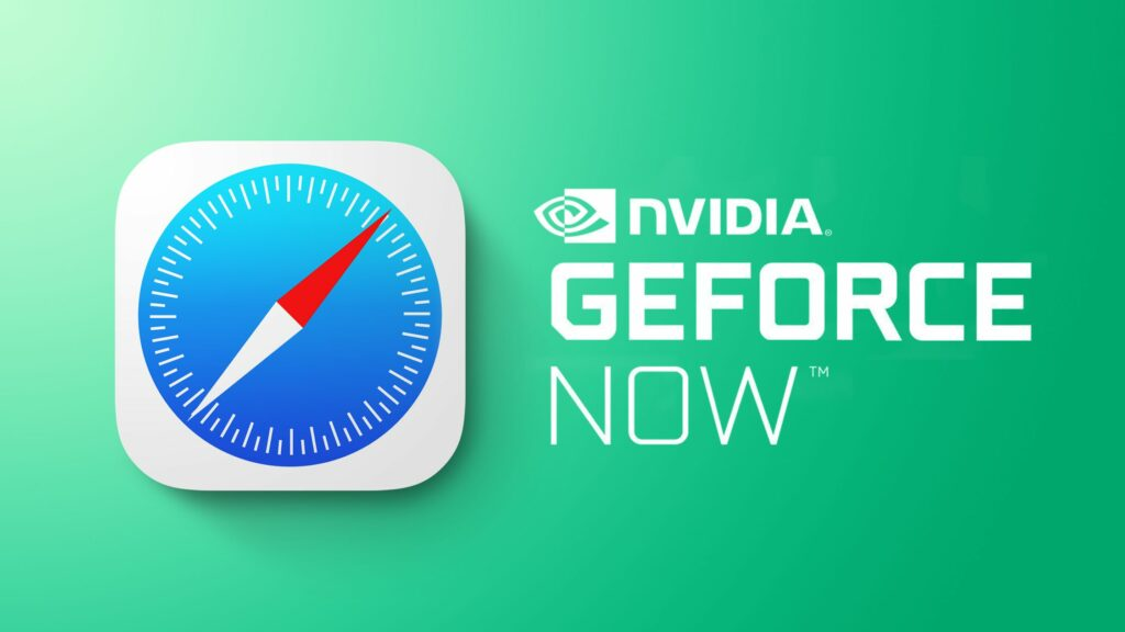 GeForce NOW na Safari