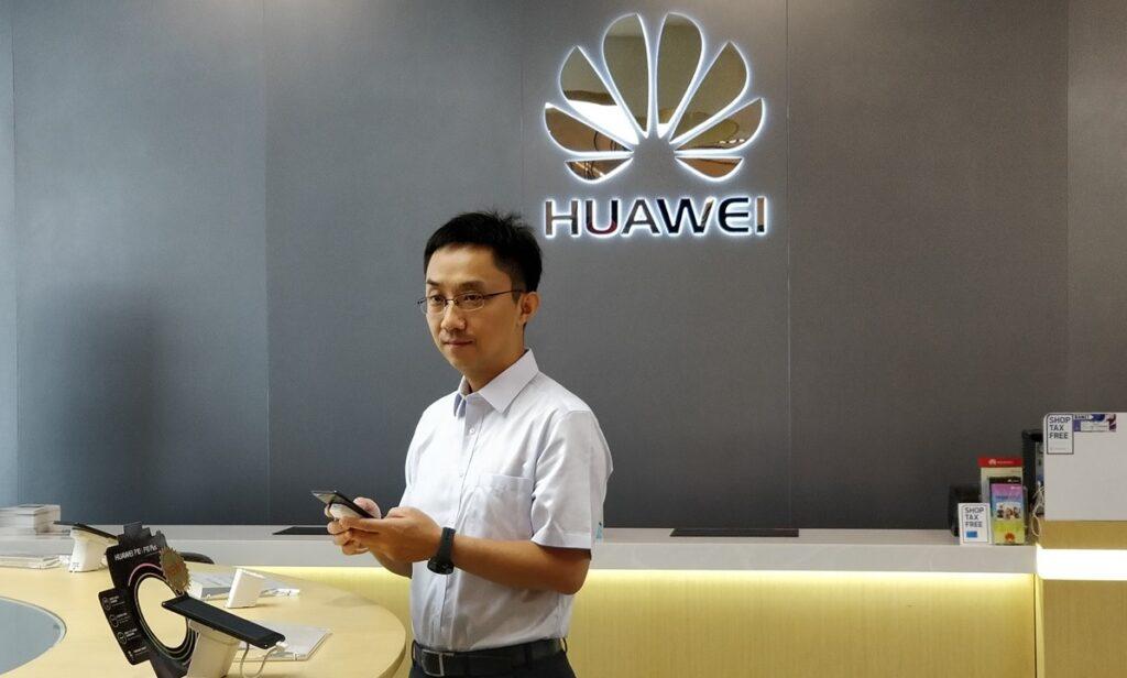 Viceprezident společnosti Huawei Bruce Lee
