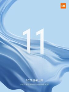 Premiéra série Mi 11