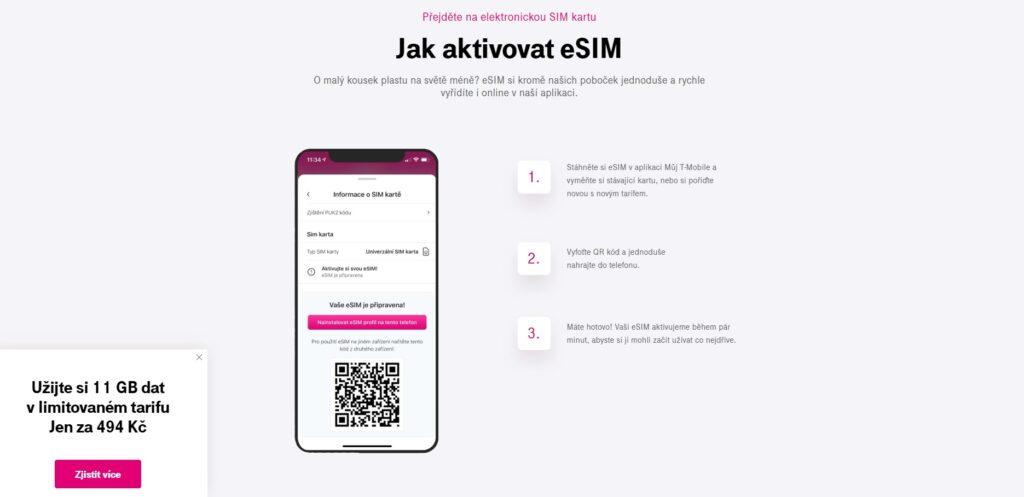 eSIM od T-Mobile