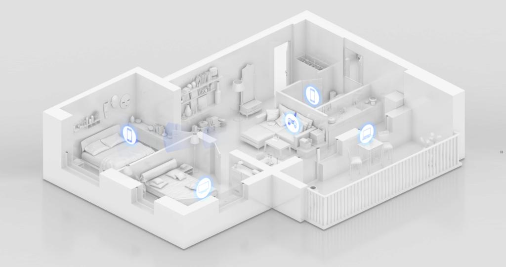 S Wi-Fi 6 Plus dosáhne Wi-Fi signál vyšší propustnosti zdmi