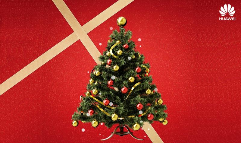 Vánoce s Huawei