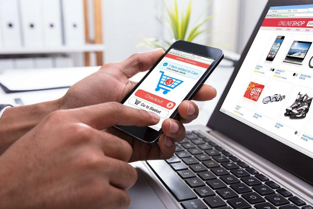 Placení na internetu pomocí smartphonu