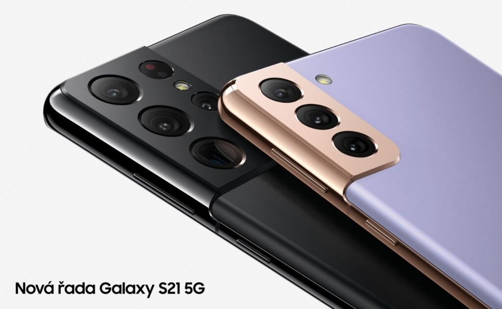 Nová řada Galaxy S21