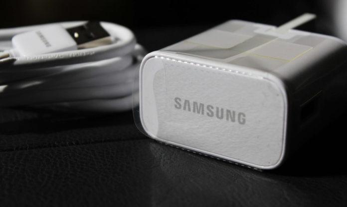 Nabíjecí adaptér značky Samsung