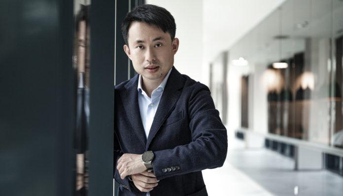 Fabio Yan, šéf spotřebitelské divize čínské společnosti Huawei v České republice