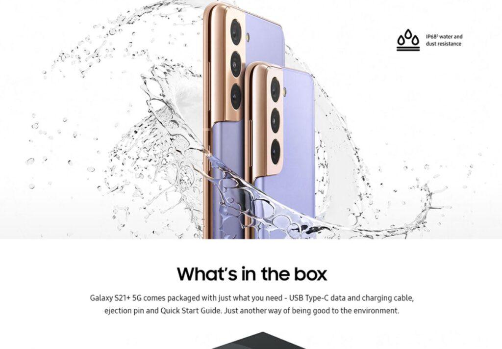 Únik webové stránky Samsungu