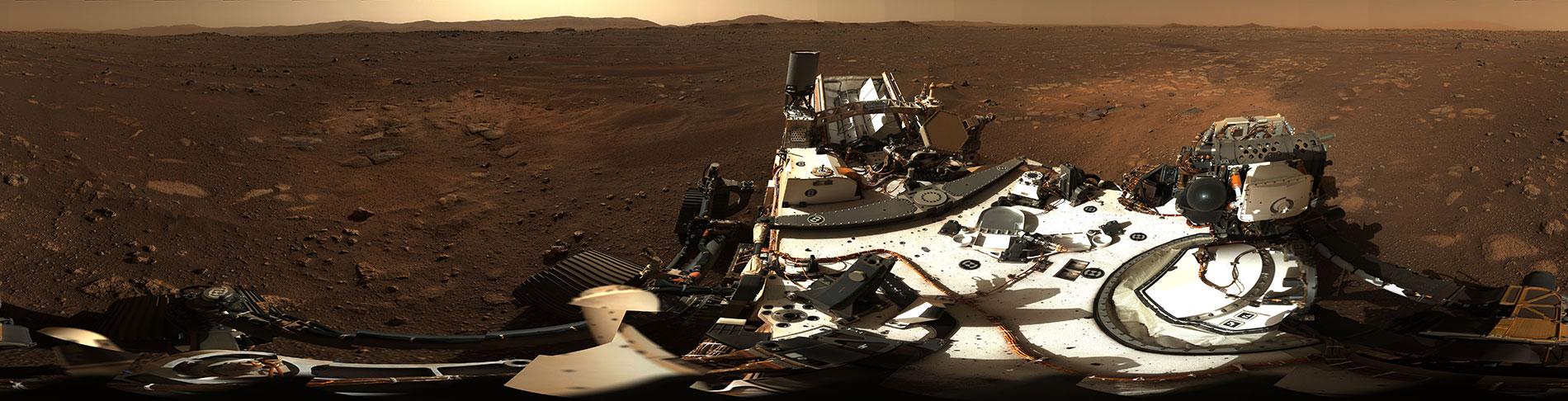 Zatím nejkrásnější panorama z Marsu