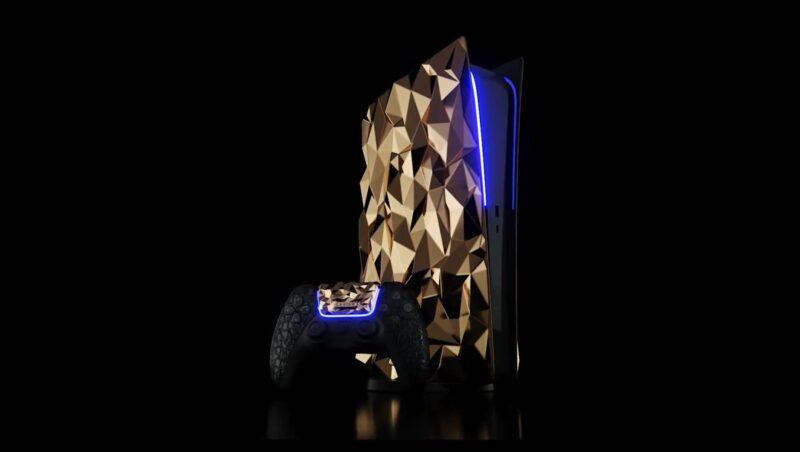Luxusní zlatá verze PlayStationu 5