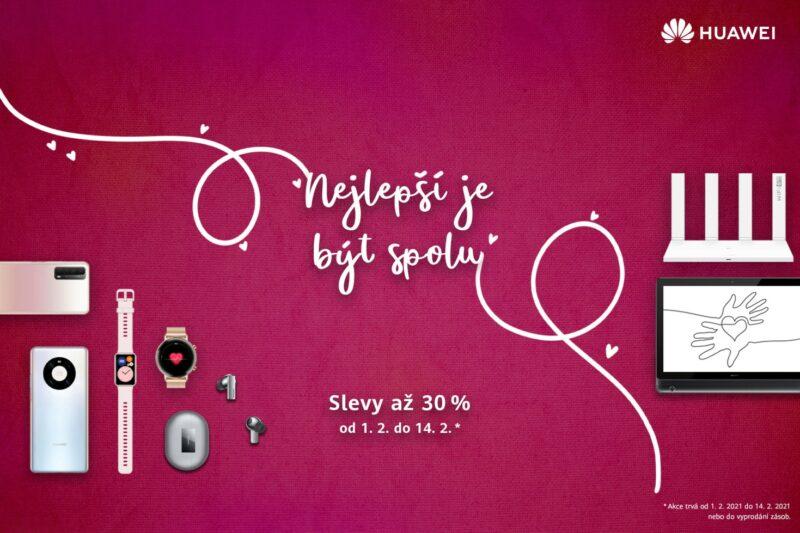 Valentýnská akce Huawei
