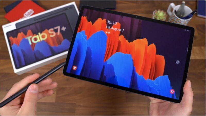 Galaxy Tab S7 a Tab S7+