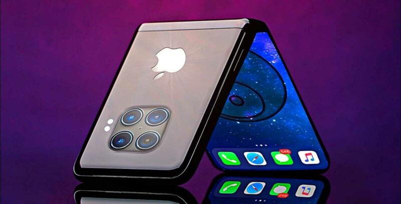 Koncept skládacího iPhonu