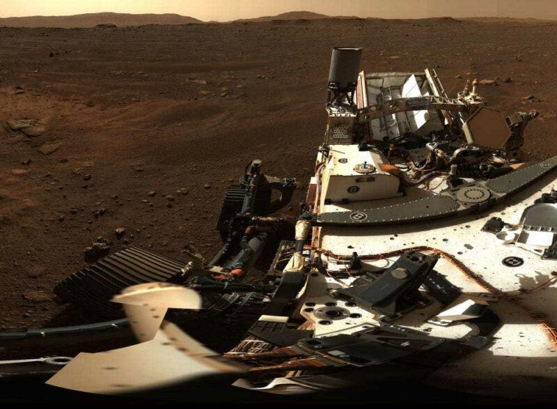 Úchvatné panorama z Marsu