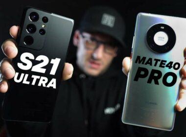 Galaxy S21 vs Mate 40 Pro