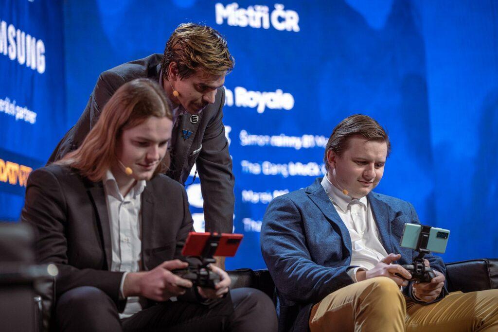 Samsung MČR v mobilních hrách 2021
