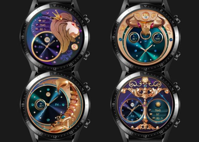 Nové ciferníky pro chytré hodinky Honor
