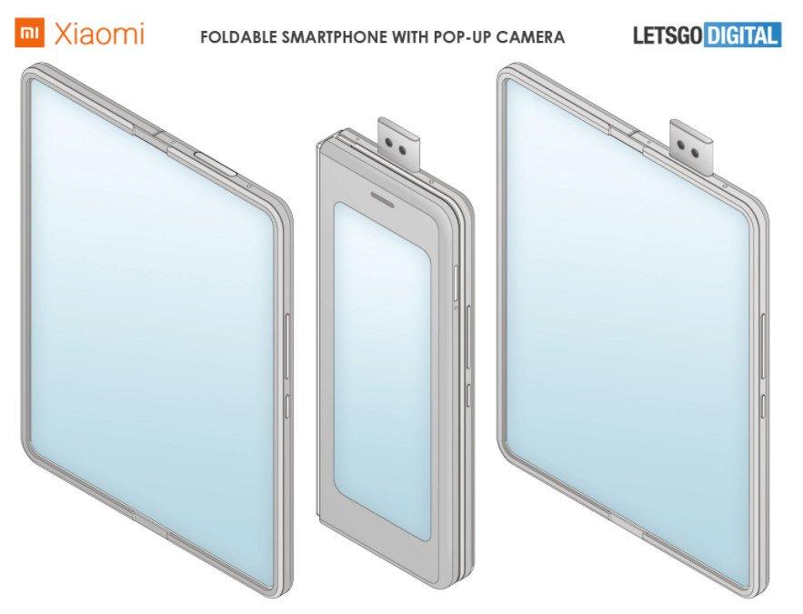 Skládací mobil od Xiaomi
