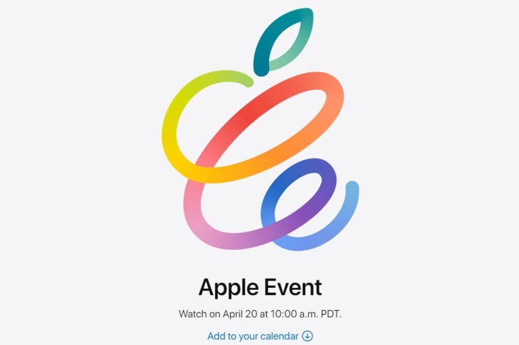 Tisková konference Apple