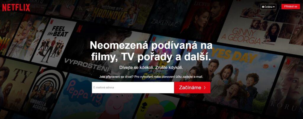 Netflix zrušil měsíční zkušební dobu
