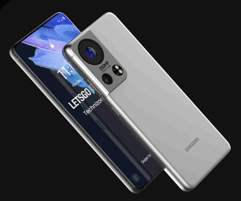 Galaxy S22 Ultra koncept