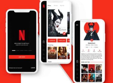 Mobilní aplikace Netflix