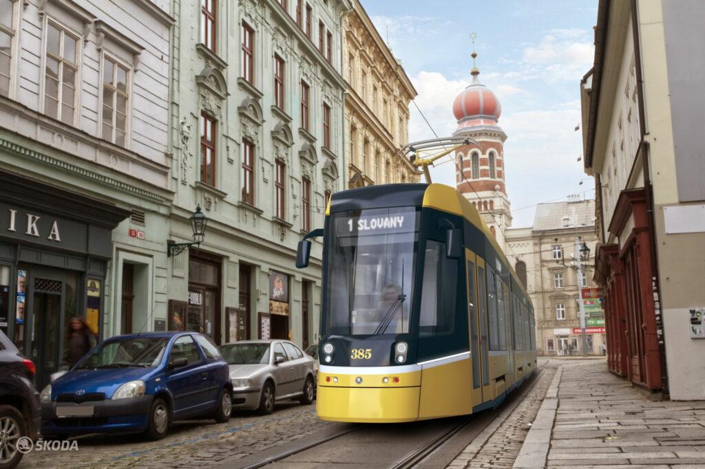 Tramvaj Škoda Transportation ForCity Smart