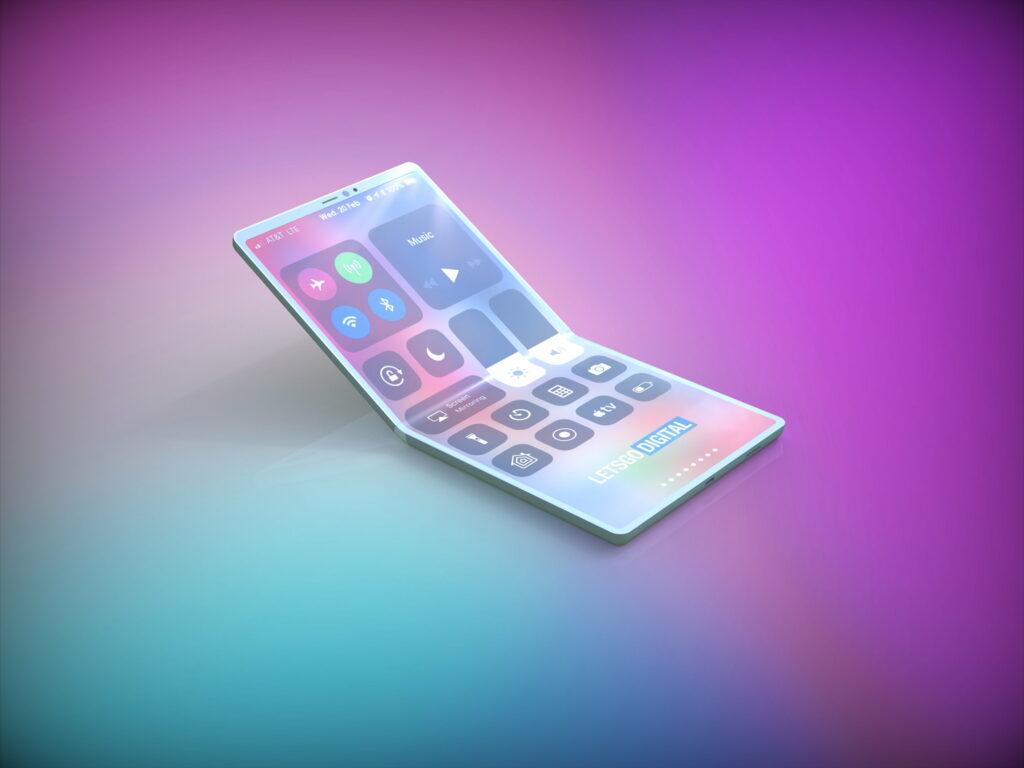 Skládací iPhone