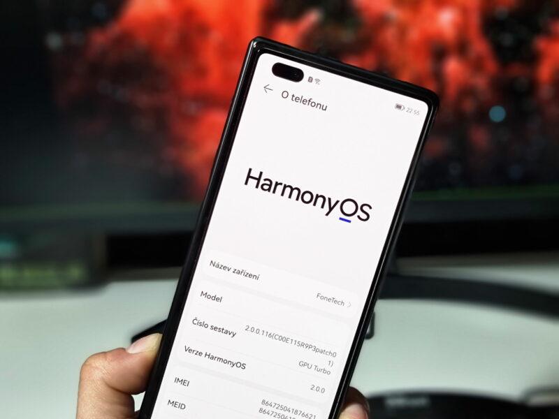 Chytrý telefon Huawei s Harmony OS