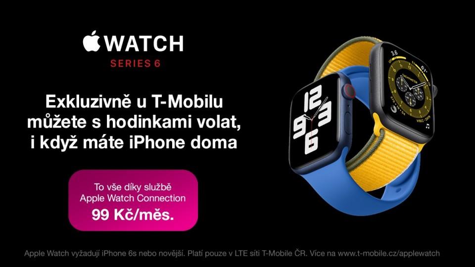 T-Mobile spouští eSIM v Apple Watch