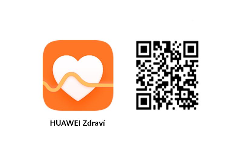 Stahujte nejnovější verzi aplikace Zdraví pomocí QR kódu