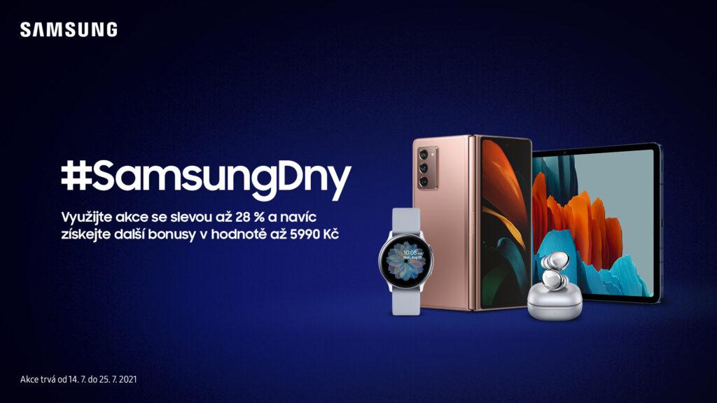 Slevová akce společnosti Samsung