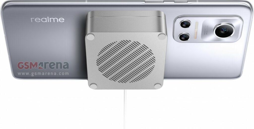 Realme Flash a nabíjení MagDart