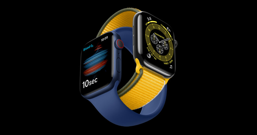 Chytré hodinky Apple Watch Series 6