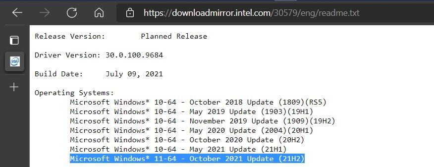 Prozradil Intel možný příchod operačního systému Widnows 11?