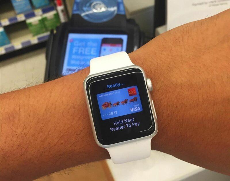 Chytré hodinky, platba
