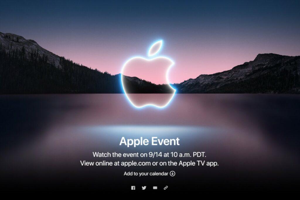 Upoutávka společnosti Apple na premiéru nových iPhone 13