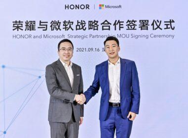 Honor oznámil strategické partnerství s Microsoftem