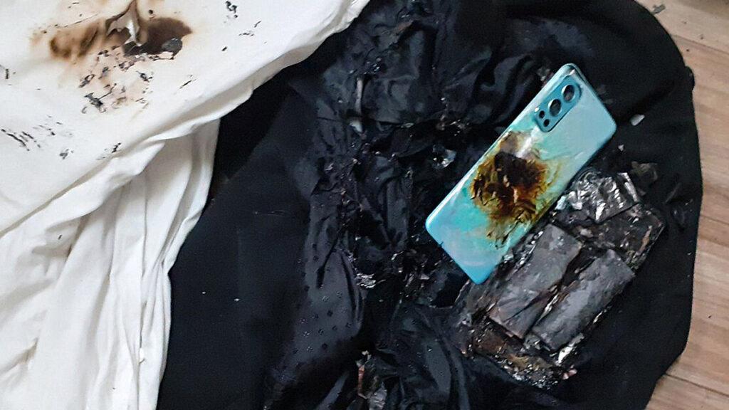 Poškozený OnePlus