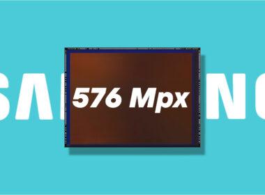 Samsung připravuje fotosnímač s 576 Mpx
