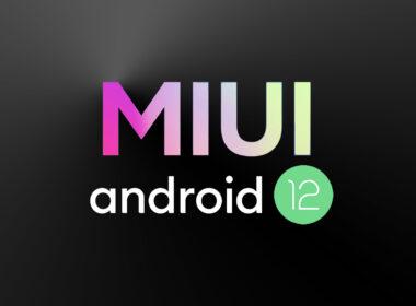 Android 12 Xiaomi MIUI