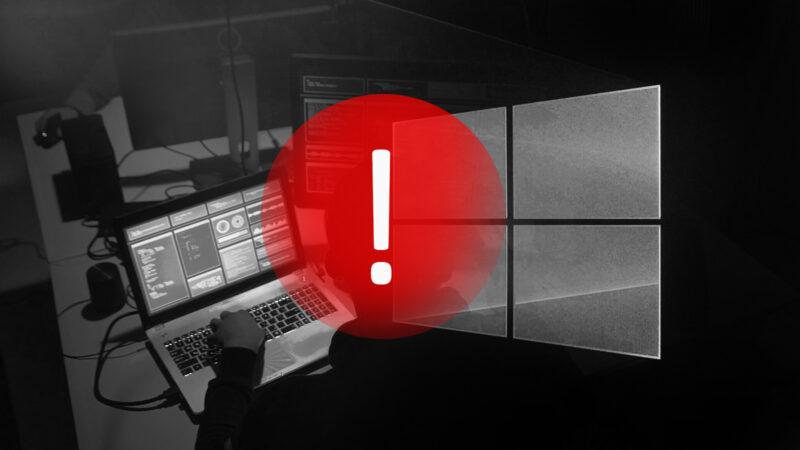 Windows bezpečnostní díra