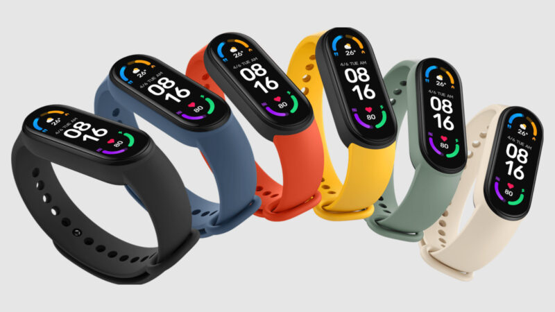Xioami Mi Smartband 6 s NFC