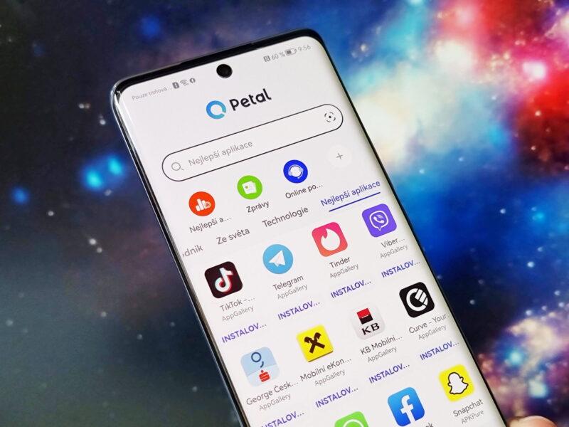 Vyhledávání Huawei Petal Search