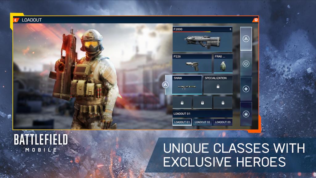 Mobilní hra Battlefield Mobile