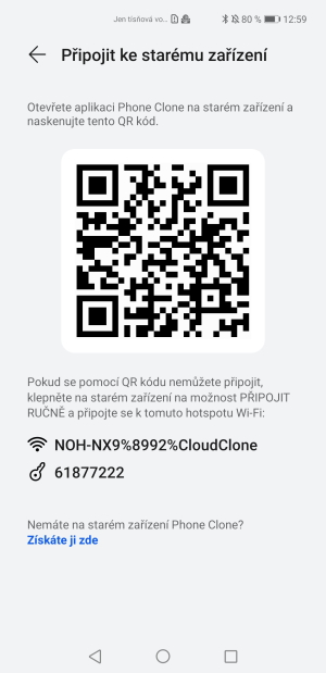 Aplikace Phone Clone