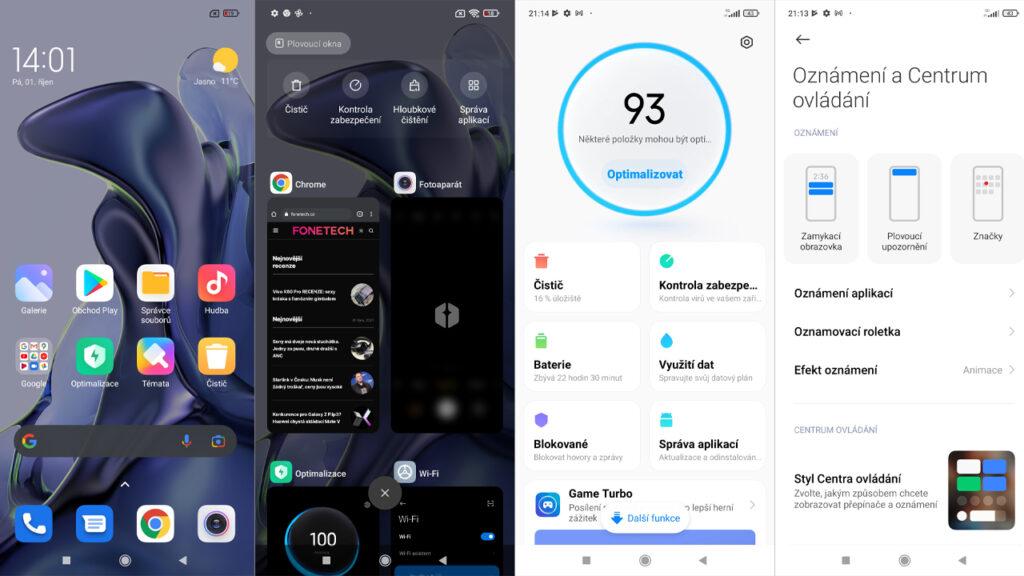 MIUI 12.5 Xiaomi 11T Recenze